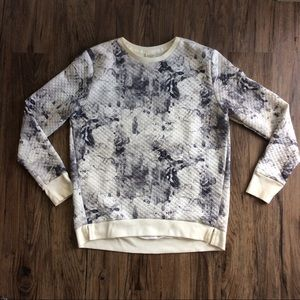 Abercrombie & Fitch quilted Sweatshirt